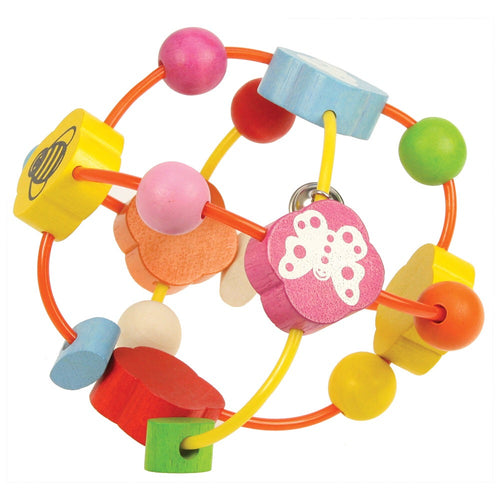 Bigjigs Toys Activity Ball - perfect for helping coordination for little ones.