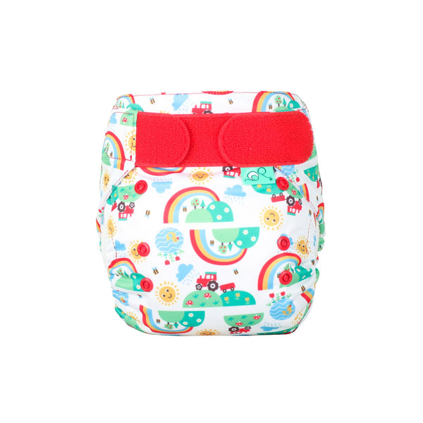 Reusable Nappy EasyFit STAR Happy Days by Frugi / TotsBots