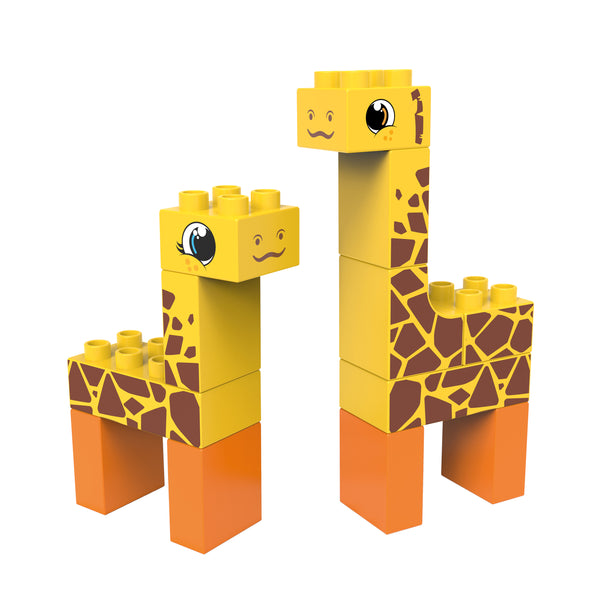 Giraffe and Moose Building Blocks from BiOBUDDi