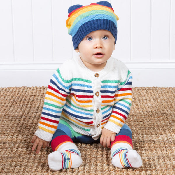 My First Rainbow Cardi from Kite