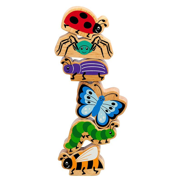 Mini Beasts - Bag of 6 wooden characters from Lanka Kade