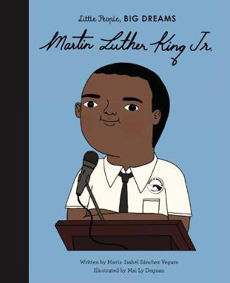 Martin Luther King Book by Isabel Sanchez Vegara
