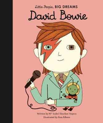 David Bowie story with wonderful illustrations, from the Little People Big Dreams collection