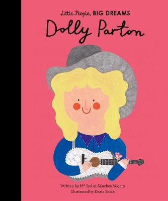 Dolly Parton story with wonderful illustrations, from the Little People Big Dreams collection