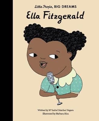 Ella Fitzgerald story with wonderful illustrations, from the Little People Big Dreams collection
