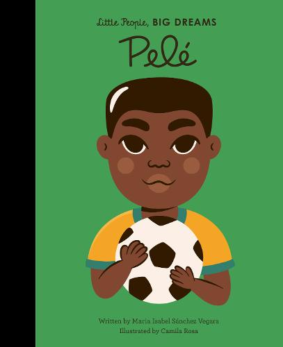 Little People Big Dreams Book - Pele