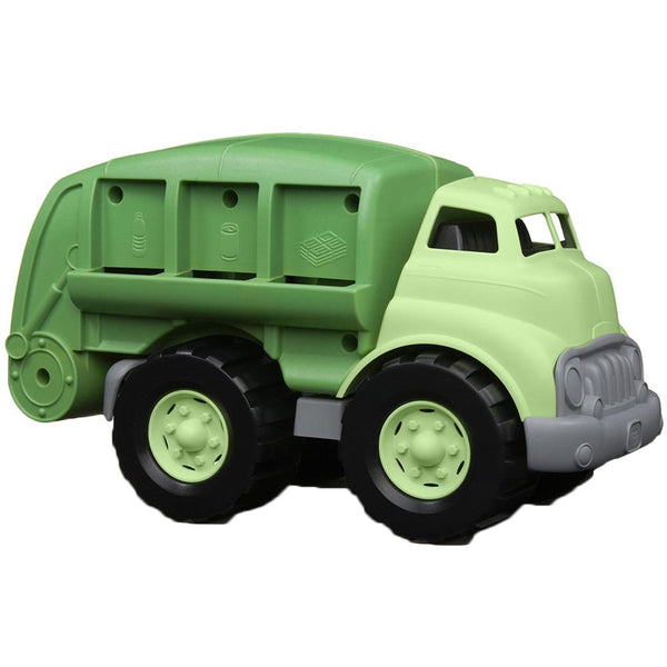 Green Toys Recycling Truck made from recyled plastic milk bottles