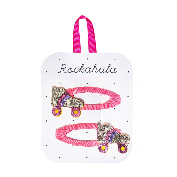 Roller Disco Glitter Clips from Rockahula