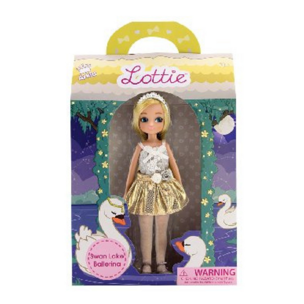 Swan Lake Ballerina - Lottie Doll