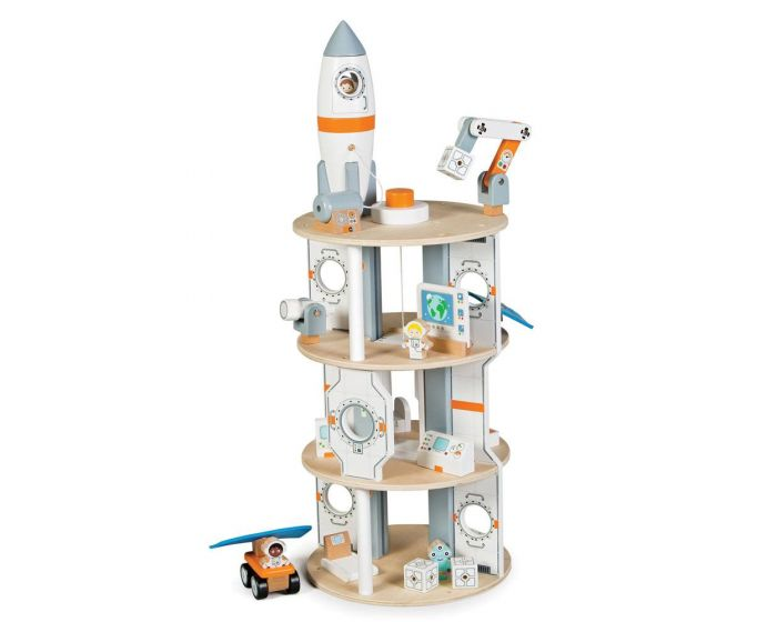 Wooden Space Station from Tidlo