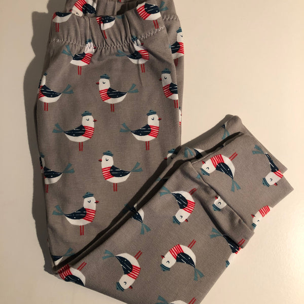 Baby Gift Set - Seagulls Leggings , T-Shirt & Koala Rattle