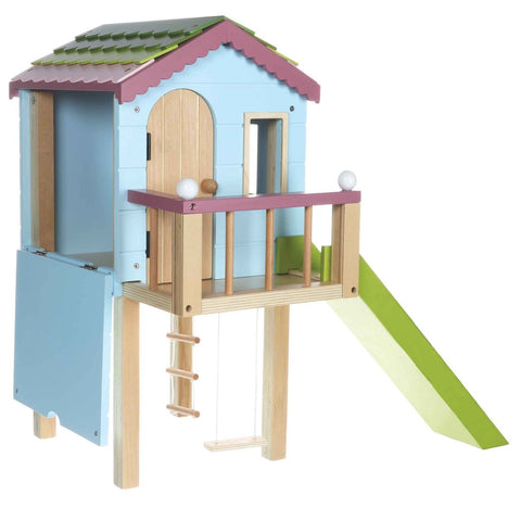 Lottie Doll Tree House Wooden Play Set