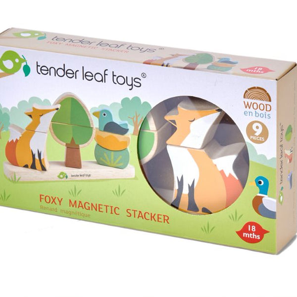 Foxy Magnetic Stacker from Tender Leaf Toys