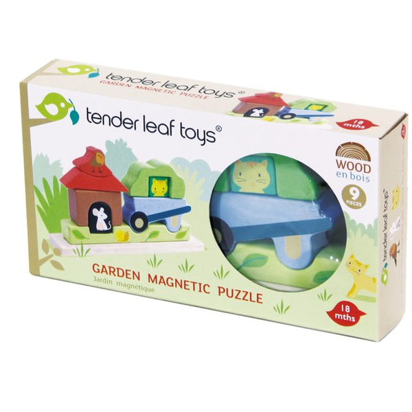 Garden Magnetic Puzzle from Tender Leaf Toys