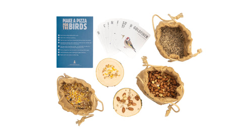 The Make a Pizza for the Birds Kit from The Den Kit Company
