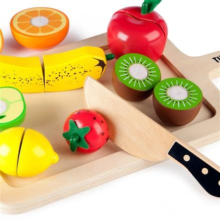 Wooden Cutting Fruits Set from Tidlo