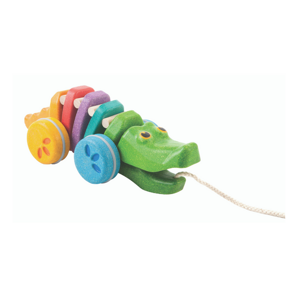 Dancing Rainbow Alligator from Plan Toys