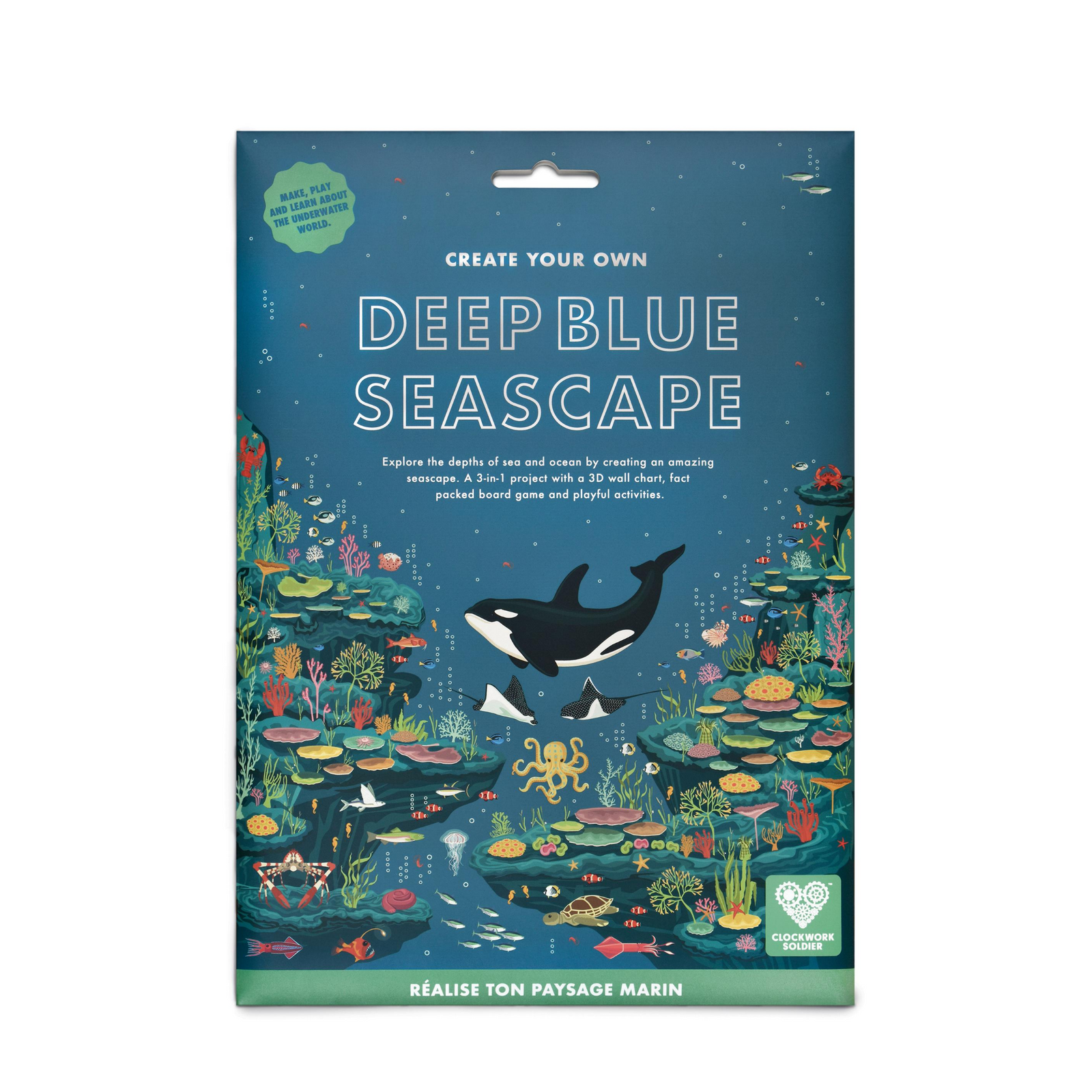 Create Your Own Deep Blue Seascape from Clockwork Soldier