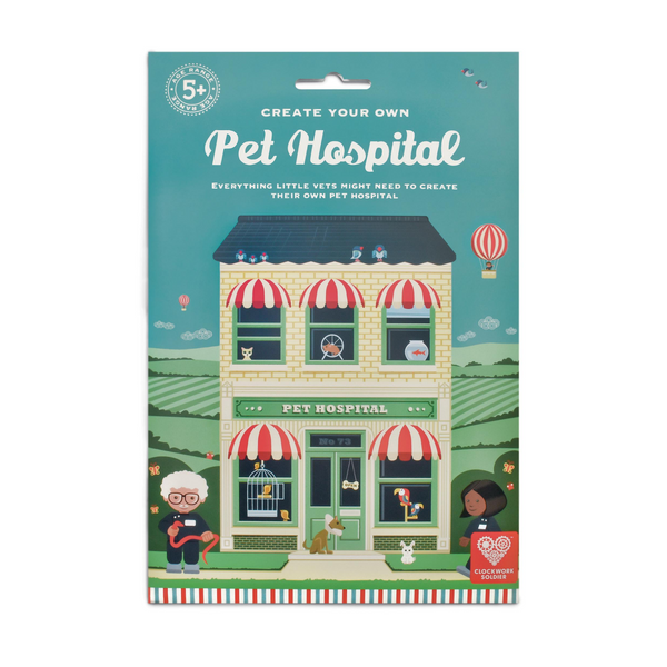 Create Your Own Pet Hospital from Clockwork Soldier