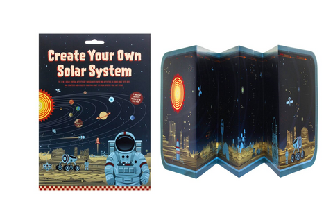 This is the side where you can create your own solar system