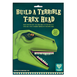 Build a Terrible T-Rex Head from Clockwork Soldier