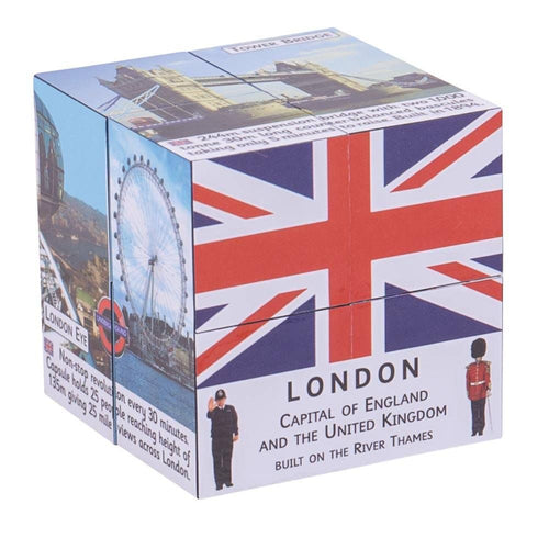 London Landmarks Facts Cube Book
