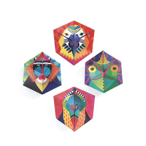 Animal Origami Fortune Tellers from Djeco
