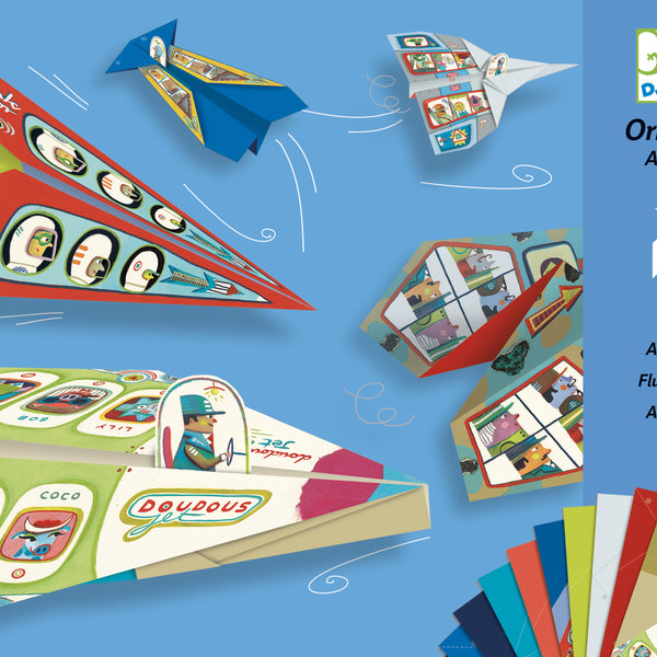 Origami Planes Set from Djeco