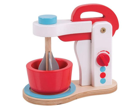 Wooden Food Mixer from Bigjigs