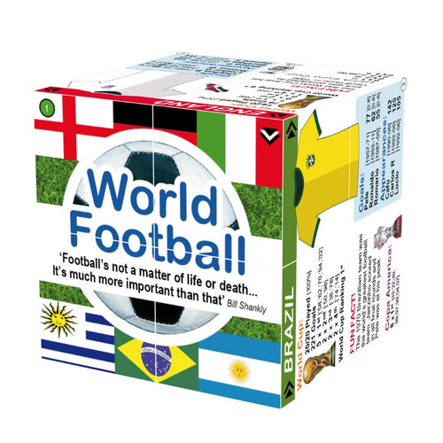 World Football Facts Cube Book