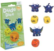 ZooBooKoo Dude Dice Mental Arithmetic Game - Level 2