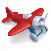Load image into Gallery viewer, Sturdy red airplane from Green Toys - ready for lots of planet friendly fun
