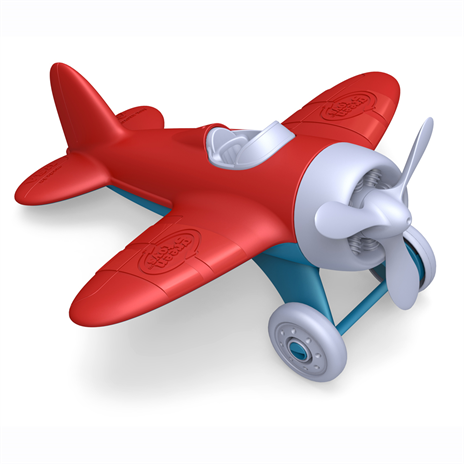 Sturdy red airplane from Green Toys - ready for lots of planet friendly fun