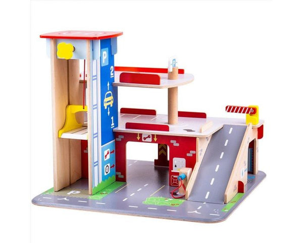 Park and Play Garage from Bigjigs