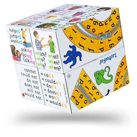 Spelling and Phonics Cube Book