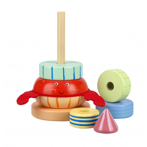 Hermit Crab Stacking Toy from Orange Tree Toys