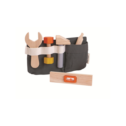 Wooden Tool Belt from Plan Toys