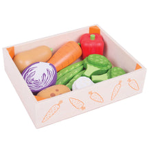 Load image into Gallery viewer, Bigjigs Toys Wooden Vegetable Crate