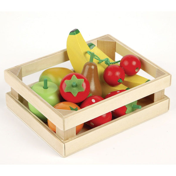 Wooden Fruit Salad from Tidlo