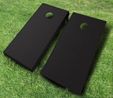 Black Cornhole Boards