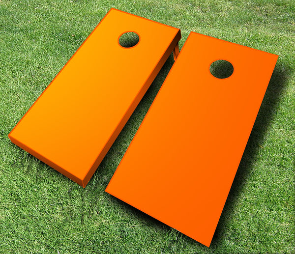 Orange Cornhole Boards