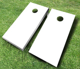 White Cornhole Boards