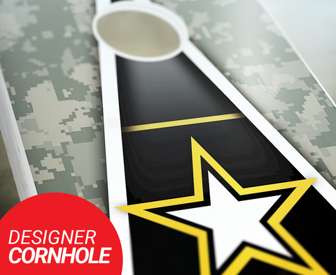 Army Cornhole Boards