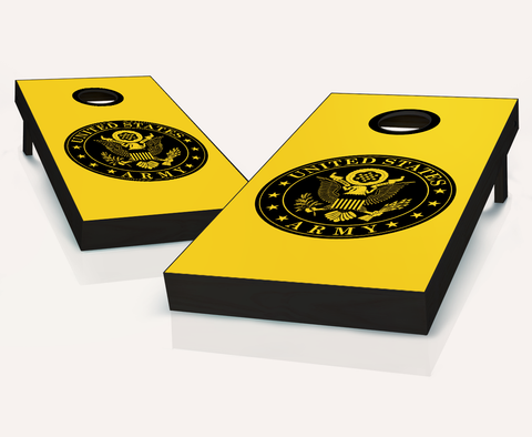 Custom Army Cornhole Boards