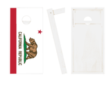 California Flag Cornhole Boards