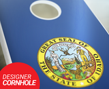 Idaho Flag Cornhole Boards