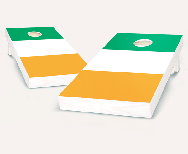 Irish Flag Cornhole Boards