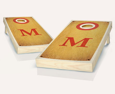 Initial Monogram Cornhole Boards