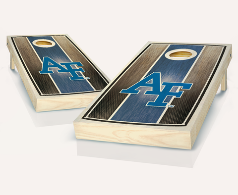 Stained Air Force Cornhole Board