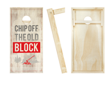 Chip Off The Old Block Cornhole Boards